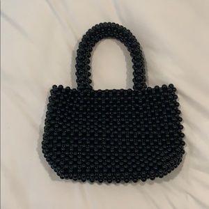 Black Zara Beaded Bag